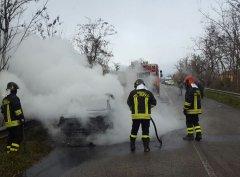 Incendio Fiat Abarth