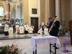 Madonna delle Grazie - Accensione lampada votiva