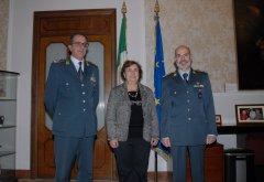 Visita del nuovo prefetto di Napoli ai vertici della Guardia di Finanza