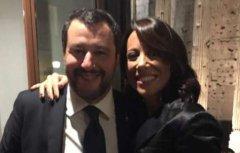 De Girolamo - Salvini. Foto: Dagospia