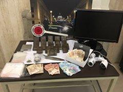 droga e soldi sequestrati - Gdf