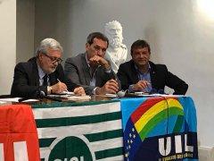 incontro unitario dei sindacati contro la legge di bilancio 2018