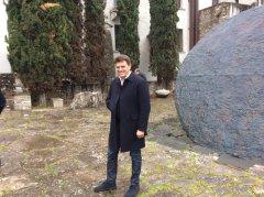 Raffaele Del Vecchio all'Hortus Conclusus