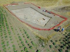 L'area di scavo