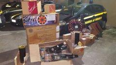 Napoli. Sequestro fuochi pirotecnici illegali da parte della Guardia di Finanza