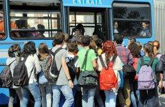 Trasporto pubblico, studenti