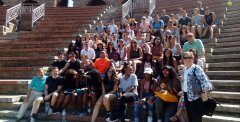 Studenti USA a Benevento