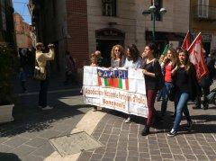 Festa della Liberazione. Il corteo del 25 aprile lungo il Corso (foto di archivio)