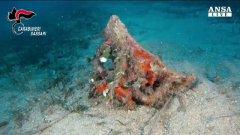 Sassari: ritrovati in mare reperti dell'eta' romana imperiale