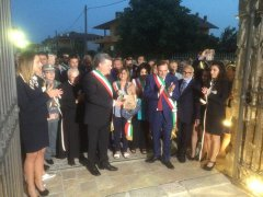 Inaugurazione Casa Marchitto