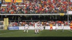 Calcio. Benevento - Lecce 3-0. I sanniti vanno in Serie B (30 aprile 2016)