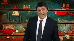 Comedy. Crozza-Renzi sulle unioni civili: Il Pd ha un cuore: abbiamo adottato Alfano