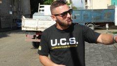 Il disoccupato che oggi protestava al Rione Liberta'