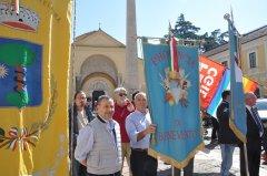 Il gonfalone della Provincia di Benevento alla marcia della Pace