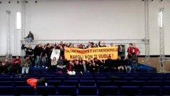 Proteste contro Salvini, occupata una sala della Mostra d'Oltremare
