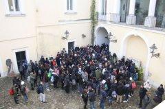 Studenti alla Rocca