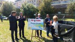 Intitolazione Fido Park, Foto: profilo fb di Fausto Pepe.