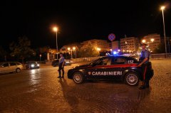 Benevento. Pattuglia dei Carabinieri