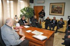 Incontro tra il presidente Ricci e i sindaci del comprensorio attraversato dalla strada ex statale 87  Sannitica