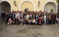 Studenti progetto Erasmus in Provincia
