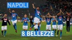 Serie A, Napoli 8 bellezze