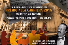 Premio alla Carriera 2018 - La Musica a Benevento, i protagonisti