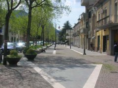 Viale Minieri, foto comune di Telese Terme