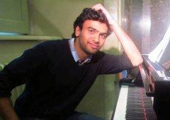 Il musicista palestinese Khalid Shomali