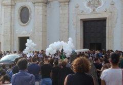 Funerali 15enne a Cerreto S.