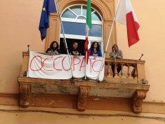 Protesta Ospedale S. Agata dei Goti: occupato il comune