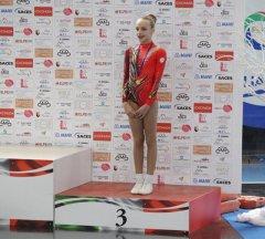 La ginnasta beneventana Maria Chiara Salerno